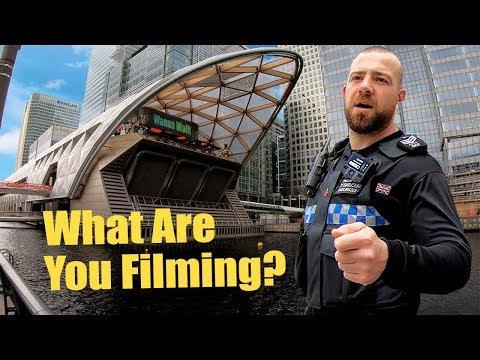 Walking Tour Of CANARY WHARF — London Video Walk【4K】👮♀️🇬🇧