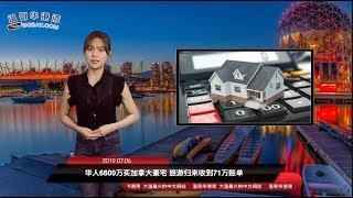 华人1200万刀买加拿大豪宅 旅游归来收到13万账单 | 加拿大保守党促对华采更强硬立场,开征关税|加拿大猪肉问题原来是中国搞的鬼?调查进行中(《港湾播报》20190706)