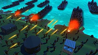 What if D-day was in the Middle of the Night? Alternate WW2 Battle in Ancient Warfare 3!