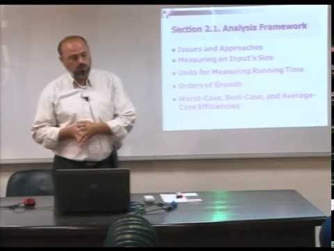 Lecture 4: Fundamentals of the Analysis of  Algorithm Efficiency -2