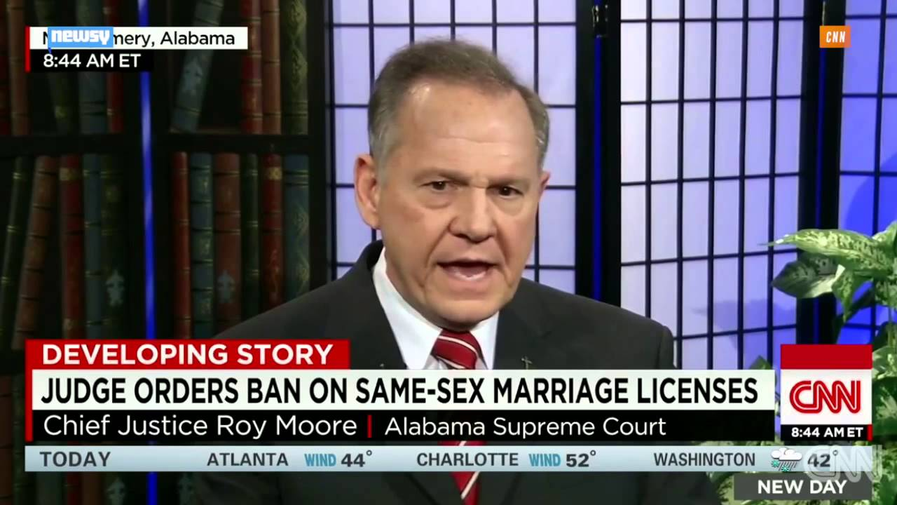 Alabama Supreme Court Stops Same-Sex Marriages