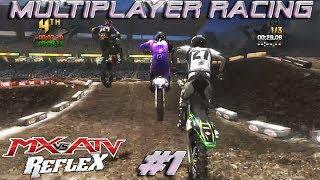 MX vs  ATV Reflex Multiplayer Racing | Stonepoint & Manchester Supercross