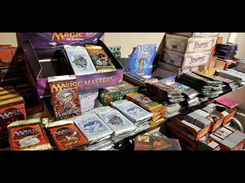 Reddit Discovers Alpha Investments selling  Repacks of Magic The Gathering