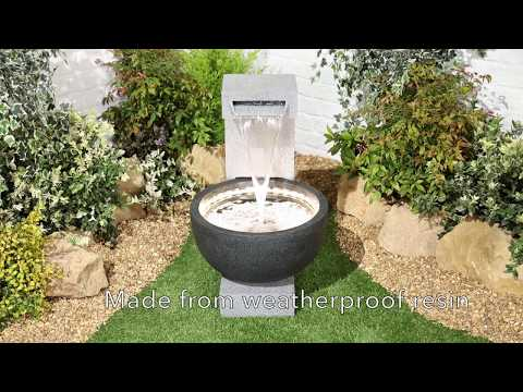 Solitary Pour Garden Water Fountain by Kelkay