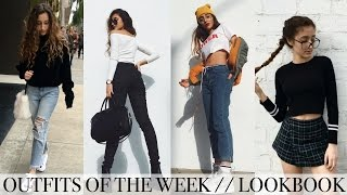 OUTFITS OF THE WEEK / LOOKBOOK | My Style ft. GLASSES