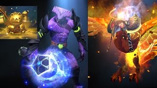 Dota 2 Immortal Solar Forge / Golden Fortune's Tout / Mace of Aeons / Treasure I Compendium 2016