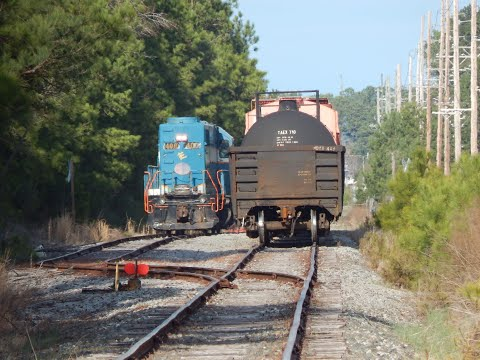 Chasing The Olde Aberdeen & Rockfish From Fayetteville To Raeford