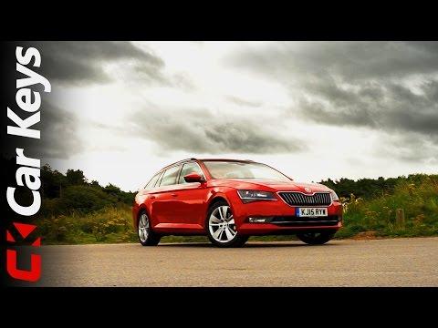 Skoda Superb Estate 2015 review Car Keys