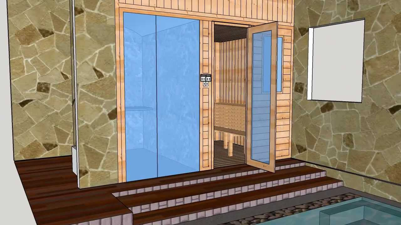 Sauna Room Steambath Room Sauna Design