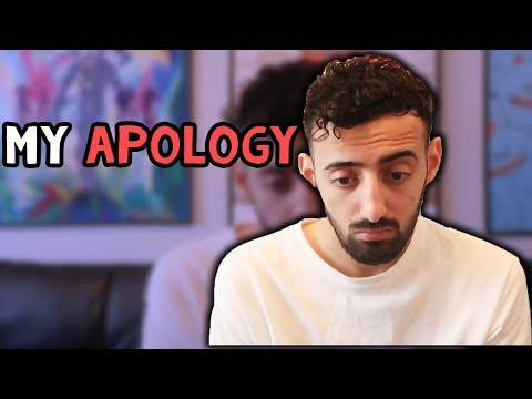 MY APOLOGY...