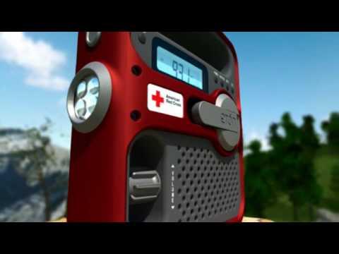 American Red Cross SOLARLINK FR360 Emergency Radio by Etón