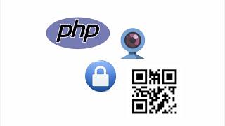 Simple Login Using Webcam QR Code Scanner in PHP