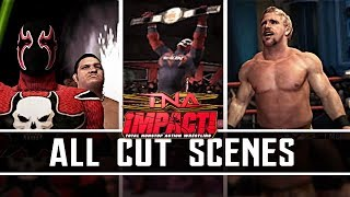 TNA Impact | All Story Mode Cutscenes Full Movie PS3/Xbox 360/PS2 1080p HD