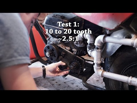 Mini Bike Gearing Experiment