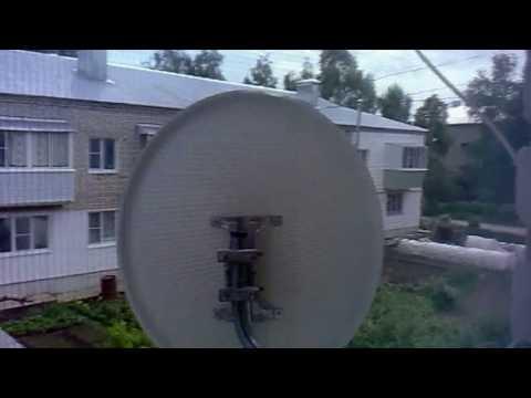 настройка бесплатных спутниковых каналов по одной частоте-халява