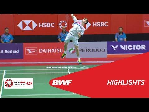 Perodua Malaysia Masters 2018    Badminton MS - QF - Highlights    BWF 2018