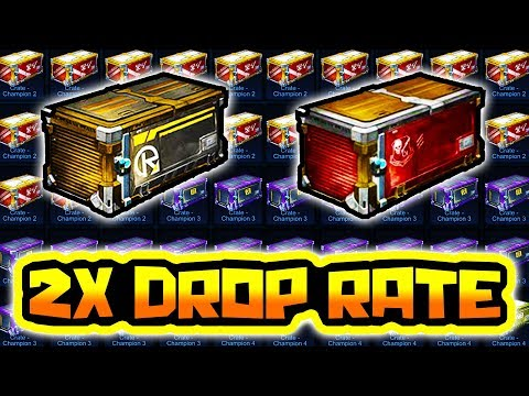 2X PAINTED DROP RATE IS BACK!! ( 80 Crate Opening in Rocket League )