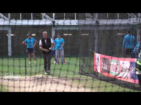Warne Bowls In Nets As Australia Eye Final