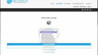 Online Apple ICloud Mode Checker By IMEI (Clean/Lost/Stolen)