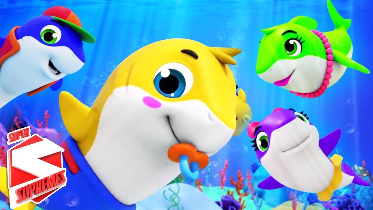 Download Baby Shark | Finger Family | Baa Baa Black Sheep & More Cartoon Stories | Nursery Rhymes & Songs