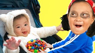 CoCo Family Funny Play Pretend With Mom and Baby In Home PlayGround - Education video for kids