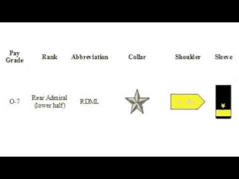 NAVY Rank Visual & Audible MEMORY For RTC