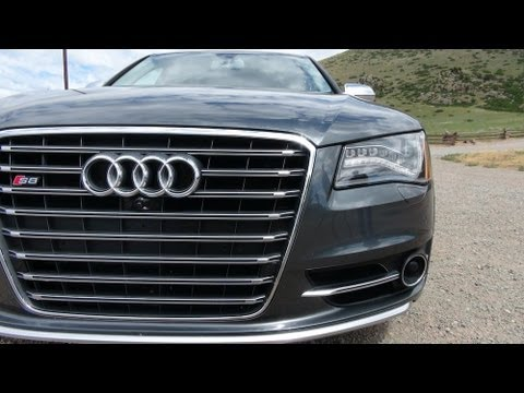 2013 audi s8 0 60 mph drive and review youtube. Black Bedroom Furniture Sets. Home Design Ideas