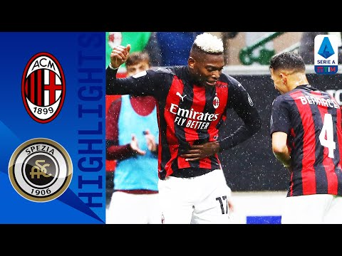 Milan 3-0 Spezia | Milan cruise to victory over newly promoted Spezia | Serie A TIM