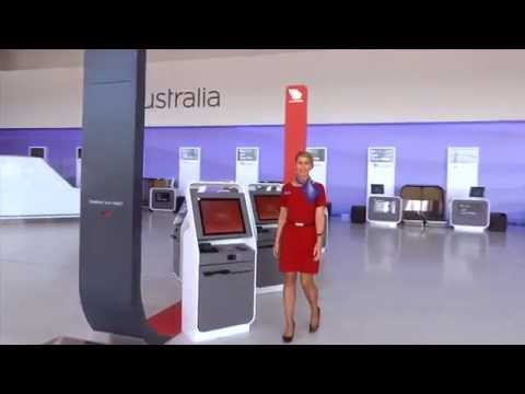 Virgin Australia Perth Terminal - Fly Through