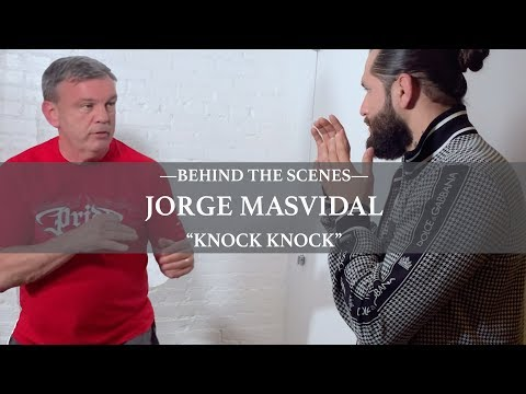 """Teddy Atlas Shows Jorge Masvidal """"Knock On Front Door, Come In Side"""" Technique Before Diaz Fight"""
