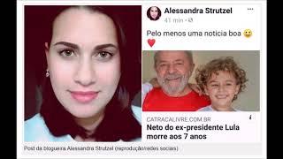 Baixar Blogueira bolsonarista comemora a morte de neto de Lula #ForçaLula