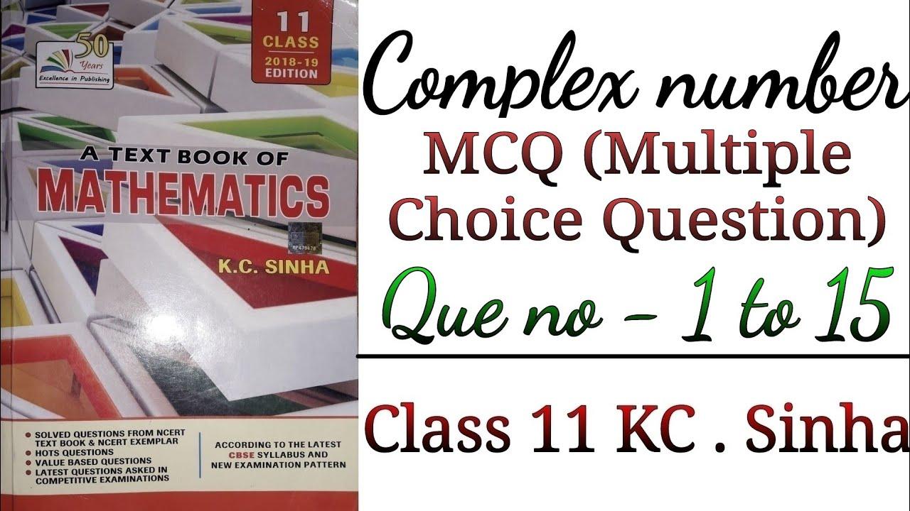 Kc Sinha Mathematics Class 11 Book