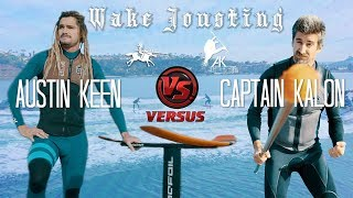 Wake Jousting with World Champ Skimboarder!