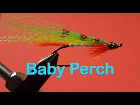Beginner's Fly Tying Series: Easy Streamer Series - The Baby Perch