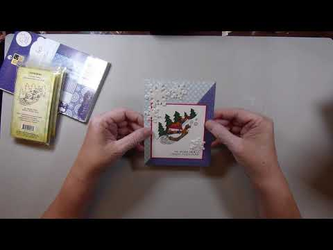 Creating Cards With Candy Tigs December