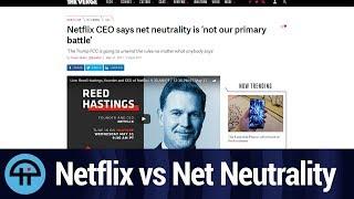 Netflix Won't Help Net Neutrality