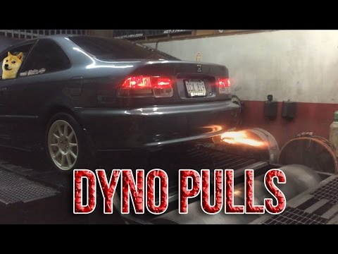 Civic B18C (El Cenizo) DYNO DAY