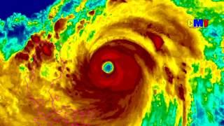 huracan tifón Mangkhut se acerca a China 2018  Florence vivo