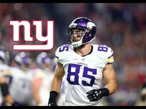 Rhett Ellison Highlights - New York Giants Blocking Tight End