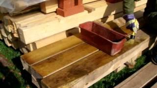 видео: Деревянная теплица своими руками