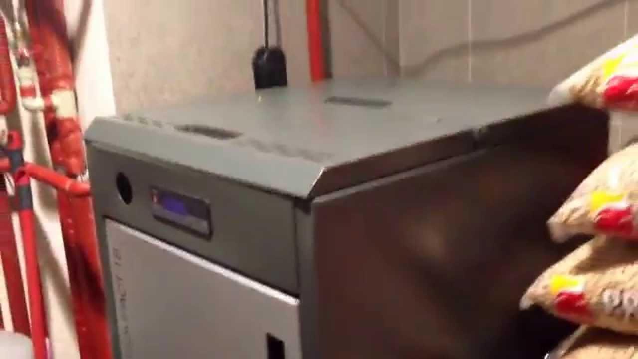 Fantastyczny MCZ Red Compact 18 kw + 15kg Lava Pellet 8mm Kotłownia - YouTube SN09