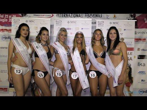 Miss Blumare Veneto 2017 Bikini, Abito, e Premiazioni Miss Tennis Club Schio 2017