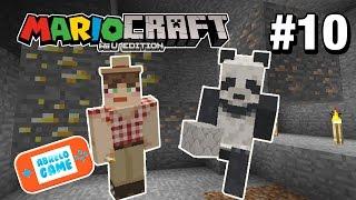 MineCraft Capitulo 10 Locura en Las Minas de MarioCraft Español La Serie de MineCraft en Abrelo Game