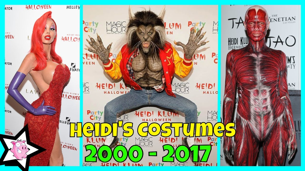 Heidi Klum Finally Reveals This Years Costume Proves Shes The