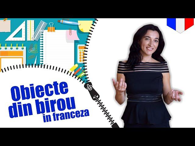 Objets de bureau en français | VOCABULAIRE | CC Sub RO EN