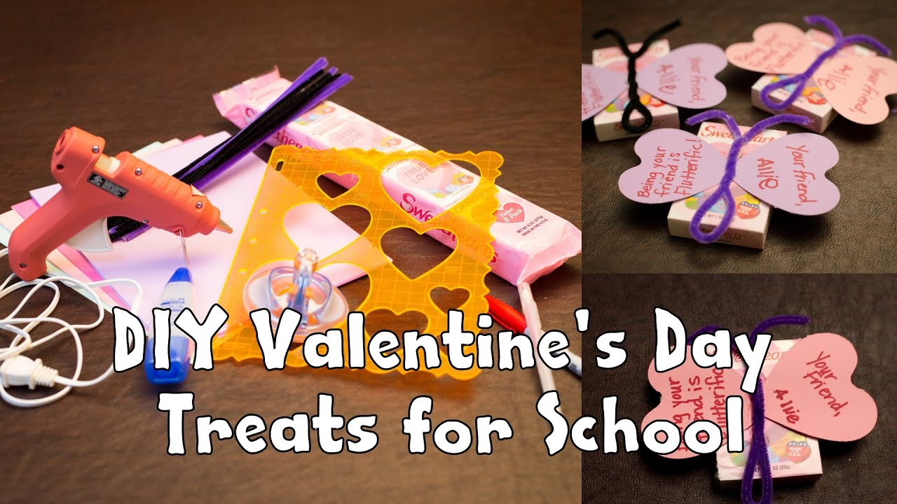 Diy Valentine S Day Treats For School Youtube