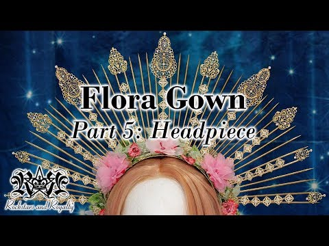 Spiked Skewer Halo Headpiece Tutorial | Flora Gown Part 5