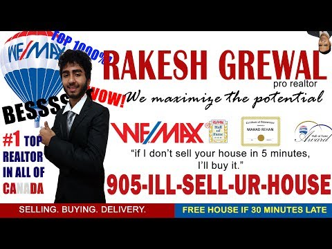 Rakesh Grewal GTA's #1 Top 1000% Wemax Realtor