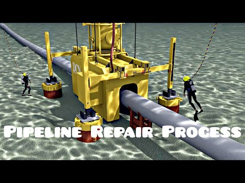 Offshore Gas Pipeline Repair Process