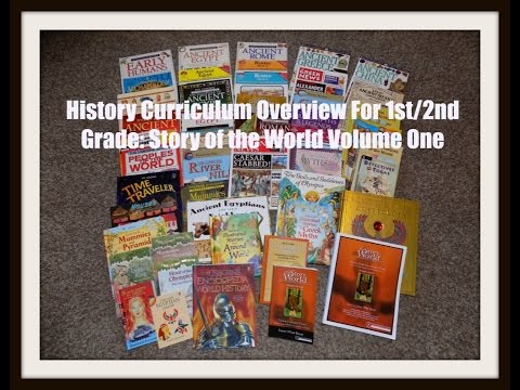 Homeschool Curriculum Overview 2016-2017: Story of the World Volume One - Ancient Times